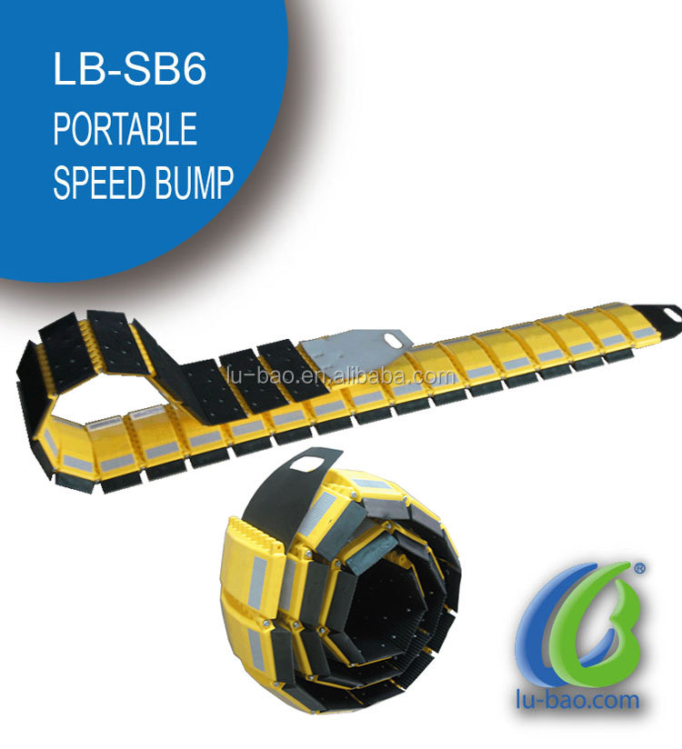 LB-SB6 Lubao High quality road and highdrive rubber speed hump