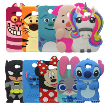 Phone Funda Case For Huawei Y5 2 / Y5 II Cover Coques 3D Cartoon Blue Silicone Phone Case Bags