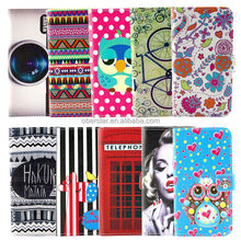 Cell phone case For Samsung Galaxy S3 mini i8190 New product Printed wallet leather phone case