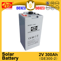 new product 2v 300ah solar batteries manufacturers in china