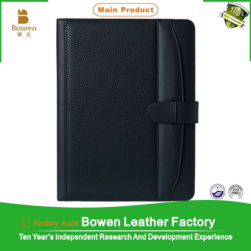 TYWEN - 0256 fancy leather folders for women / new style pu leather file folder / customized presentation folder with pockets