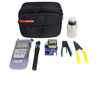 Best Price 15 in 1 FTTH Fiber Optic Tool Kits with power meter ,VFL ,cable stripper ,cable slitter