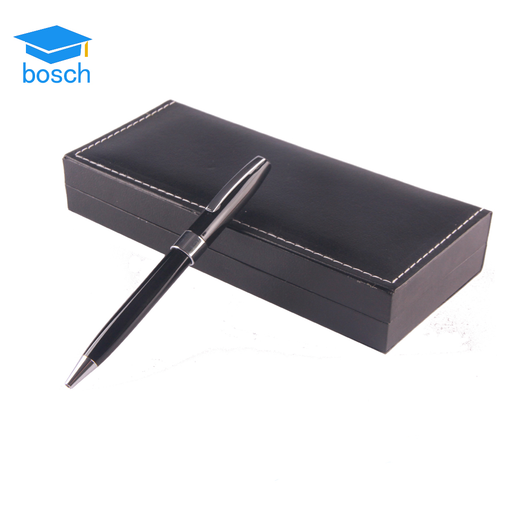 High grade business writing record metal pen papeleria stationery