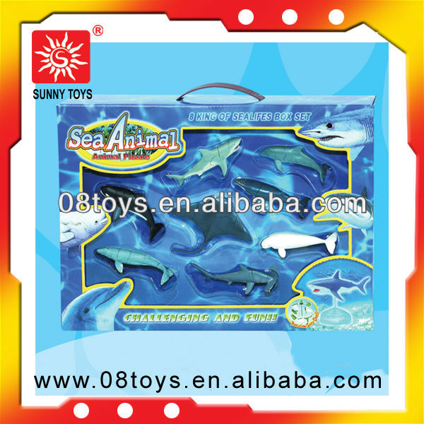 promotion gift funny 3d fish animal educational puzzle toy for children