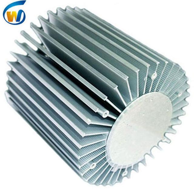 150mm vero 290 water cooling profile oem round pin fin heatsink 80-100w for led grow light 100 watts