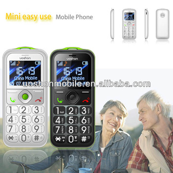 CE RoHS approved gsm senior phone with big volume, emergency button big button hands free phone wholesale China