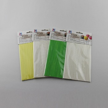 High Quality Colored Printed Paper Stick