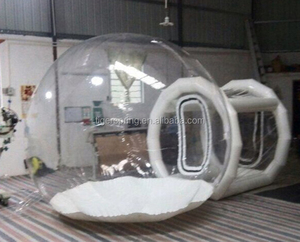 Hot welding workmanship transparent inflatable bubble tent