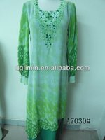 2013 Latest Islamic Design Women Beading Abaya