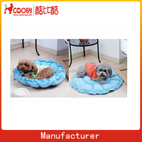 COO-0019-2015 Dog round bed, hot sale pet sofa bed, cheap folding beds pet