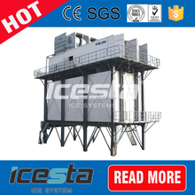 Concrete Cooling Flake ice making plant