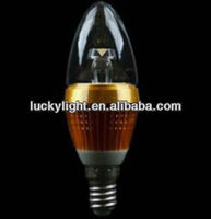 led candle light bulbs 3w
