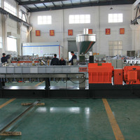 Nanjing Mixer Twin Screw Extruder Machine