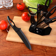 hot sell ceramic knife 2017 new arrival kitchen knife set with holder block