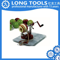 Hot sale manual Cast Iron apple peeler with clamp / slicer cutter