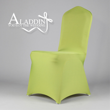 high quality China wholesale spandex folding chair cover for wedding banquet chair cloth in outdoor wedding thick seat cover