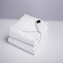 Single Controll Flannel Fleece 220V Electric Heating Blanket
