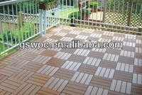 High Technology waterproof wpc DIY decking /wpc flooring