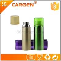New multifunctional wide mouth cup cap stainless steel thermos bottle
