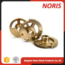 Precision Hardware Cnc Lathe Warm Gear Cnc Brass Gear
