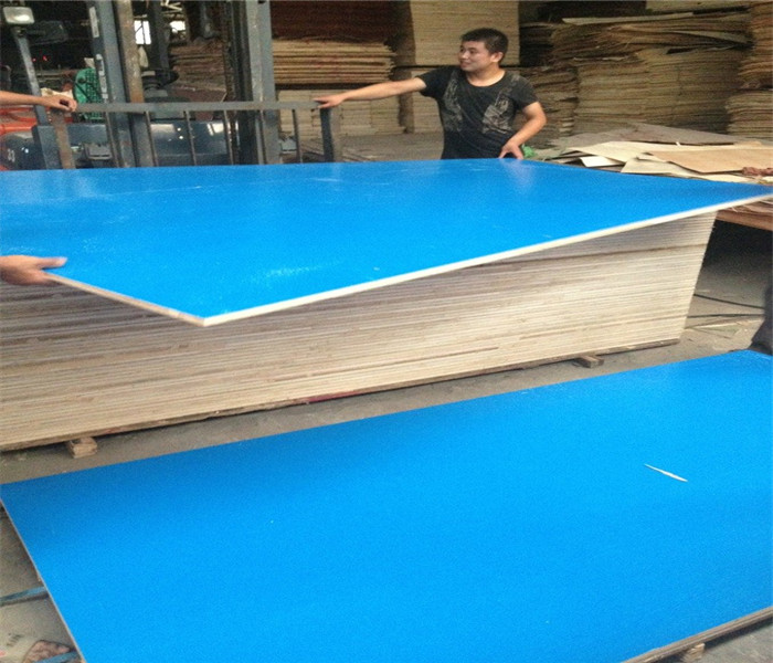 Melamine faced plywood plastic laminate mdf made