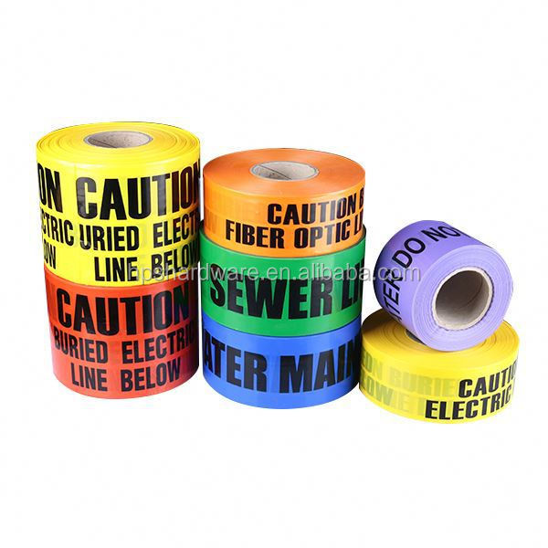 warning pvc safety strip tape