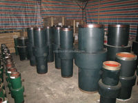 monoblock insulating joint for gas pipeline