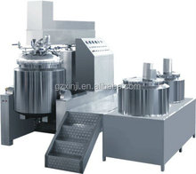 NO.1 Vacuum homogeneous mixer machine for medical sterile Ultrasound Gel making machine,ultrasound gel production line