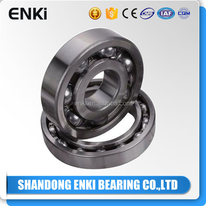 China ENKI factory motorcycle deep groove ball bearing 6200 made in China