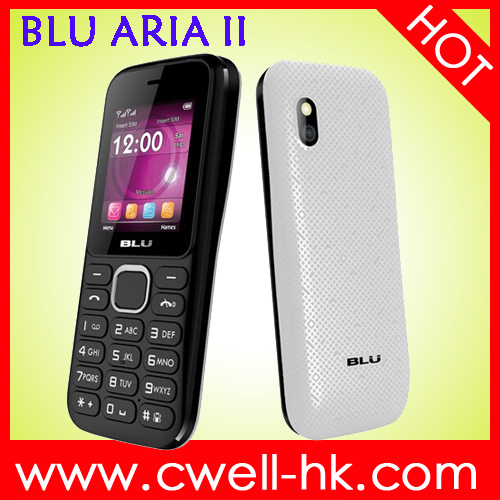BLU ARIA II T179 Brand Quality 1.8 Inch TFT Screen Dual SIM Card FM Radio Multi-Colors blu cell phone