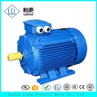 Y2 Series three phase induction 1000 watt electric motor