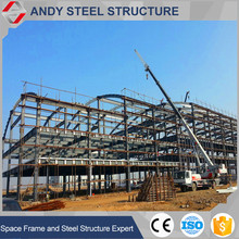 High Quality Long Span two story steel structure warehouse