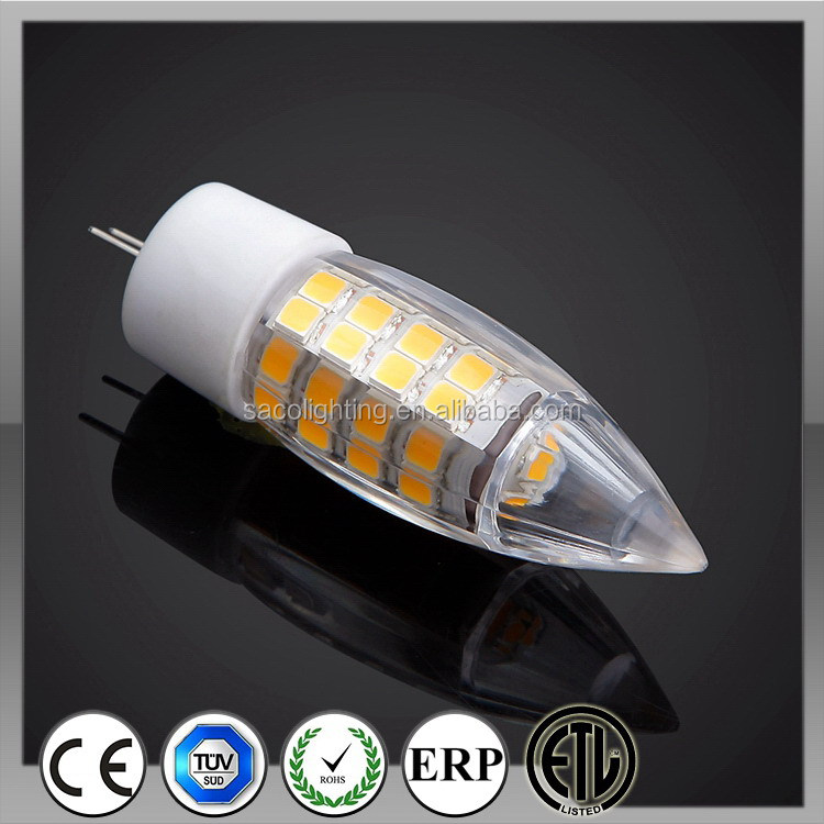 Alibaba china best sell 4w 3chip g4 27 smd 5050 led light