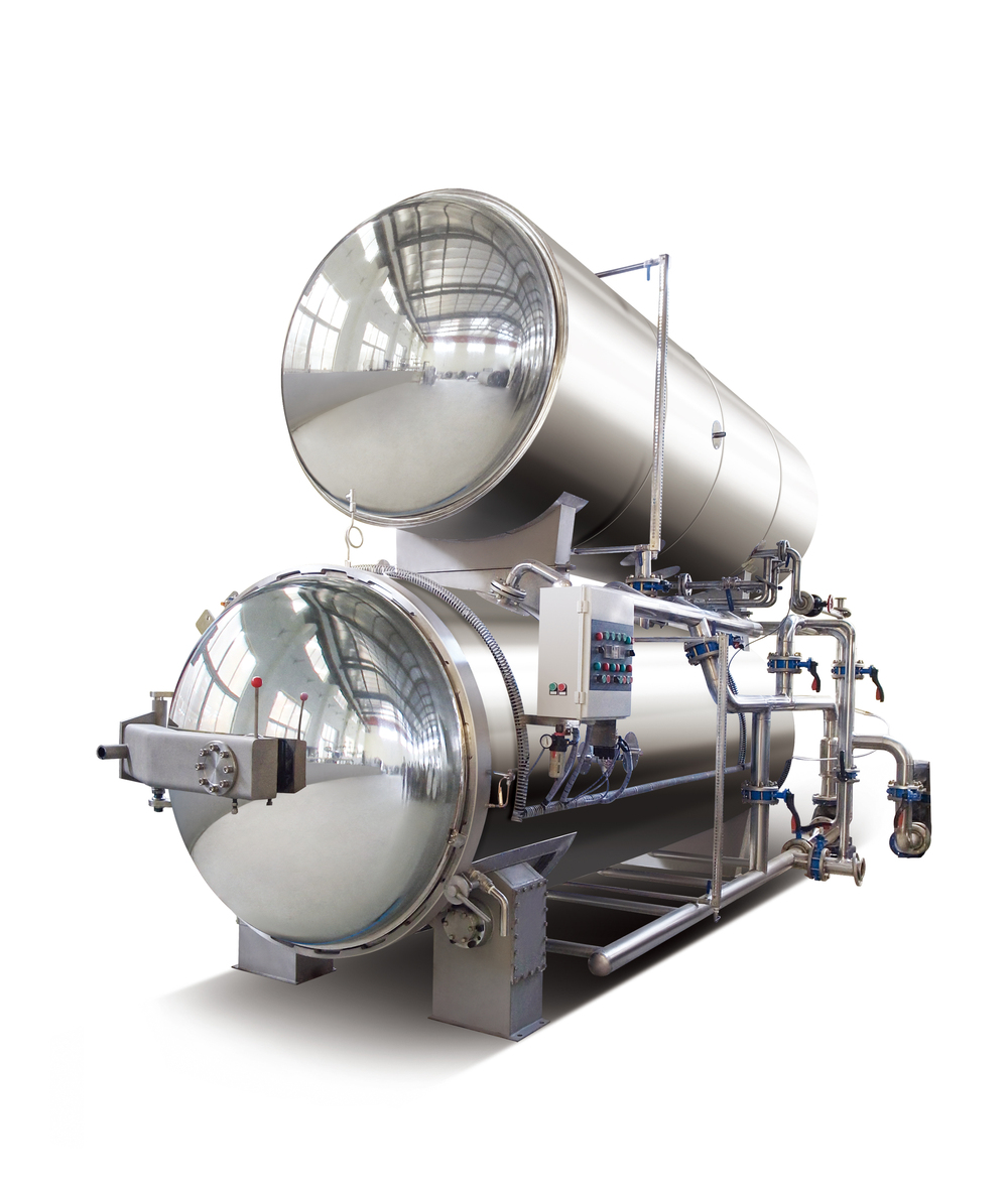 Automatic with PLC high pressure steam rotary industrial autoclave prices industrial autoclave prices