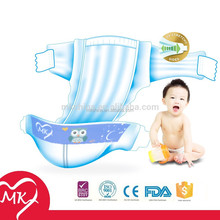 Disposable wholesale baby diaper for European market with CE certificate