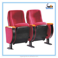 Commercial theater seats/fabric lecture hall chair