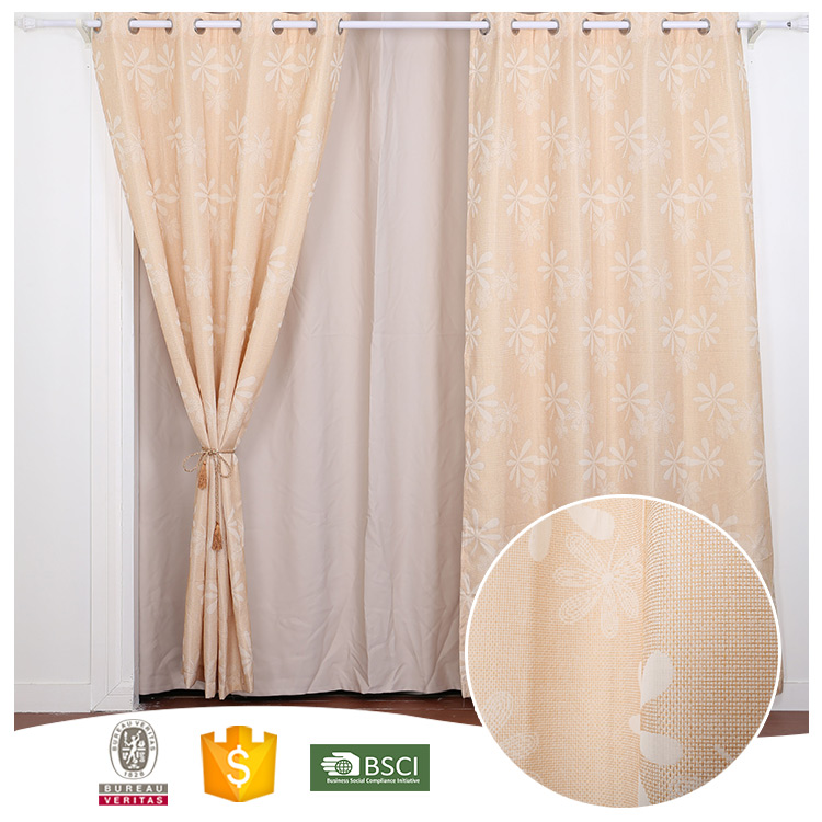 2017 Top Quality 10 Years Experience Heavy blackout curtain with magnetic strip