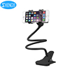 360 Degree-Rotating Mobile Phone Lazy Clip-on Holder Gooseneck Hand Phone Holder for desk