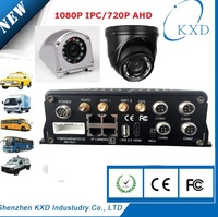 Fine sales 4CH CCTV DVR for vehicles support GPS and 3G with ;Screen,MDR7104 3G