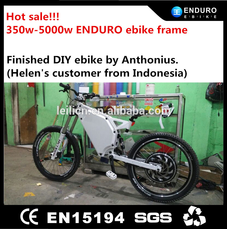5000W green power chopper electric bike