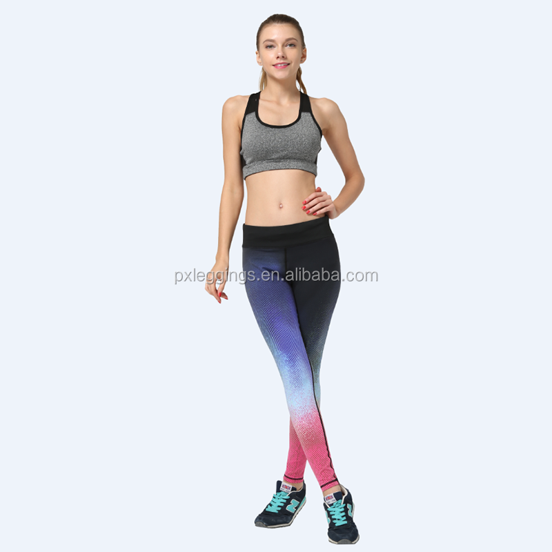 Wholesale Womens Fitness Activewear Gym Outfit Exercise Tank Top Fitted Leggings