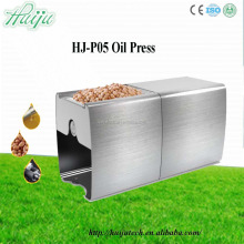 soybean oil press machine price/family use mini oil press with oil filter HJ-P05