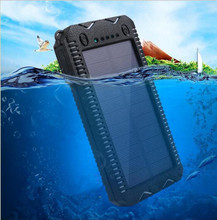 High capacity Multifunctional Waterproof Solar power bank