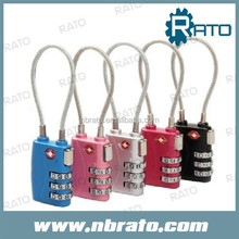 RP-157 travel Cable TSA Approved Lock
