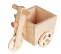 2015 new unique hot China kids toy gift craft wholesale custom decorative children small race ornament make handmade wooden cars
