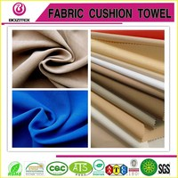 100%polyester microfiber brushed peach skin board shorts fabric