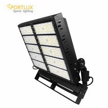DALI Driver Used Stadium Lighting 1000W Module LED Flood Light Fixture 60*60 Degrees