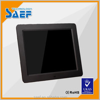 OEM 10.4 inch digital photo frame display 1024x768 wall mounted lcd advertising screen support video/AudioPicture/E-Book format