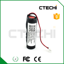 1P1S 18650 lithium battery pack with PCB protect