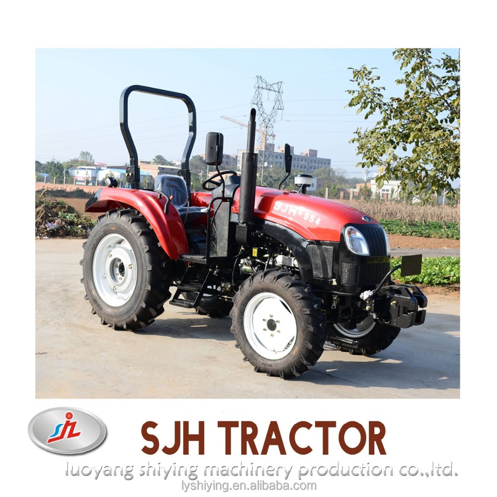 55hp 4wd farming equipment machine farm tractor snow plow